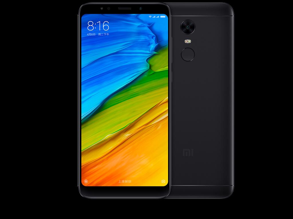 XIAOMI Redmi 5 Plus 4GB/64GB Black Mobilais Telefons