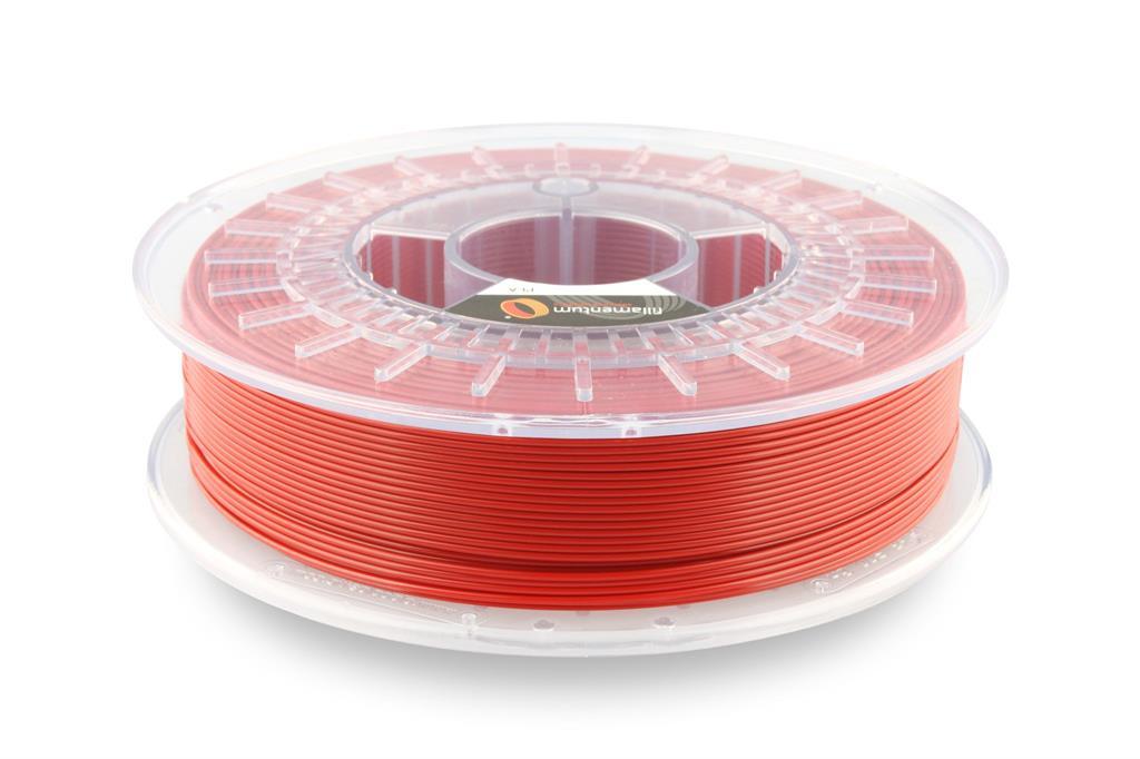 FILLAMENTUM / PLA / SIGNAL RED RAL 3001 / 1,75 mm / 0,75 kg. 3D printēšanas materiāls