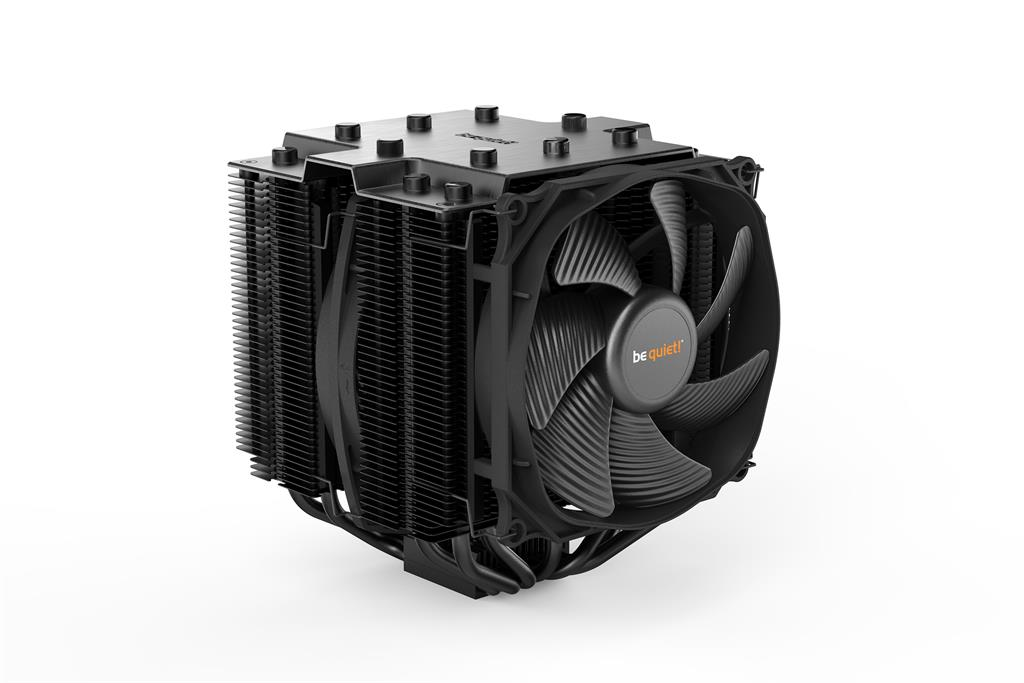 be quiet! CPU cooler Dark Rock PRO 4 1150/1151/1155/1156/1366/AM2/AM3/AM4 procesora dzesētājs, ventilators