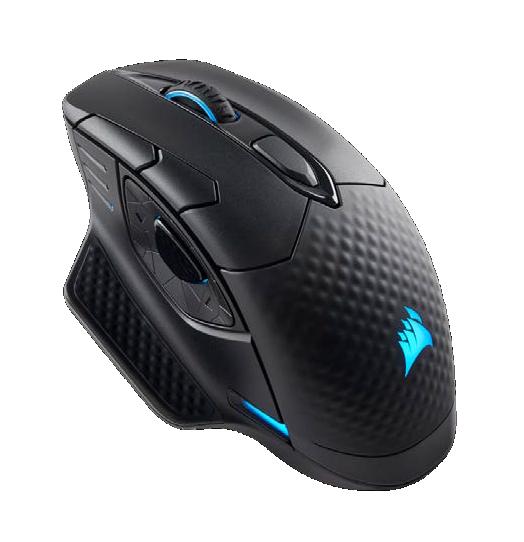 CORSAIR DARK CORE RGB Mouse Datora pele