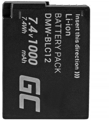 Green Cell DMW-BLC12 for Panasonic FZ2000, G81, FZ1000, FZ300, G6M, GX8 Baterija