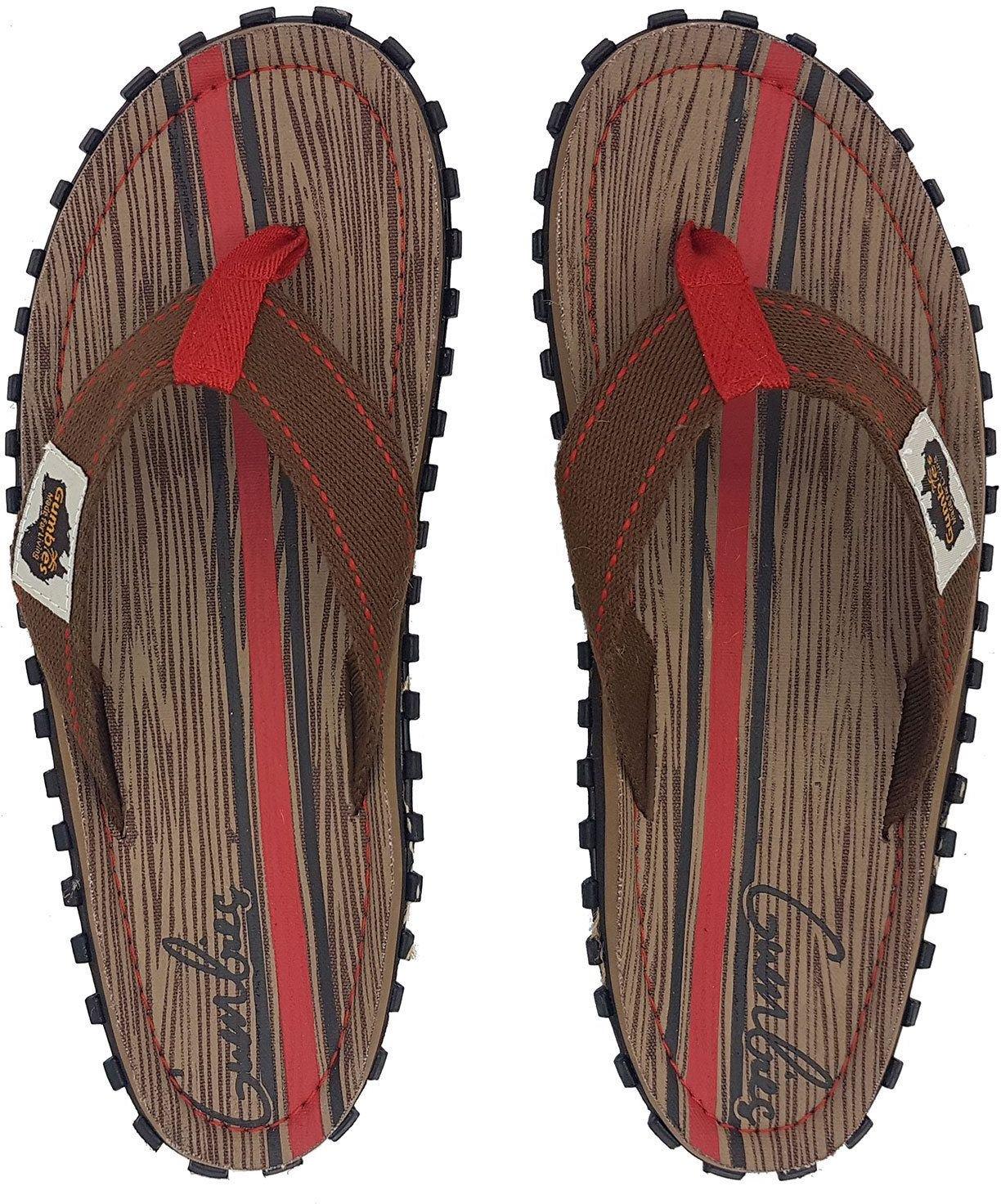 Gumbies  Japonki meskie Gumbies Islander Canvas Flip-Flops Men Woody r. 45 4009316