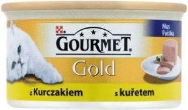Gourmet Gold Mus z kurczakiem 85g 7613031806171 kaķu barība