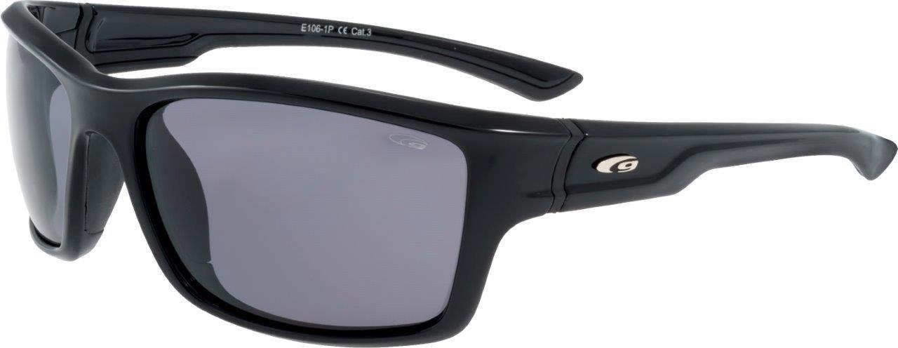 Goggle Okulary przeciwsloneczne czarne (E106-1P) E106-1P