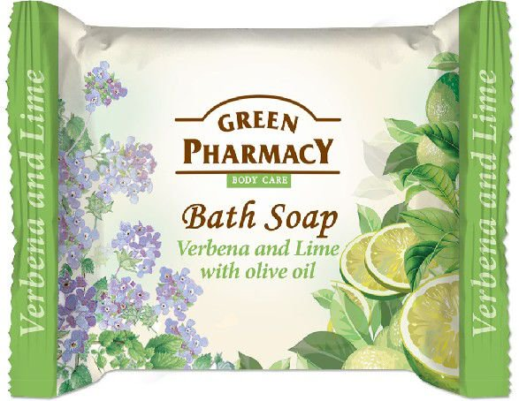 Green Pharmacy Body Care Mydlo w kostce Verbena and Lime  100g 816442