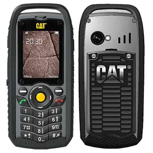 CATerpillar CAT B25 Dual black B25 black Mobilais Telefons