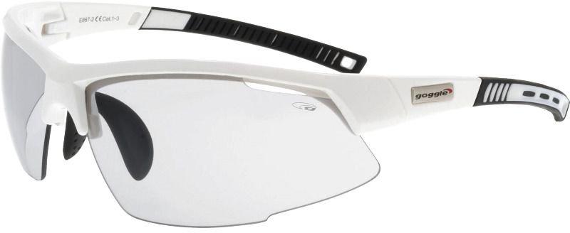 Goggle Okulary przeciwsloneczne White/Black  (E867-2) E867-2