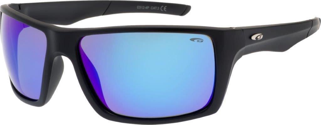 Okulary przeciwsloneczne czarne (E512-4P) E512-4P
