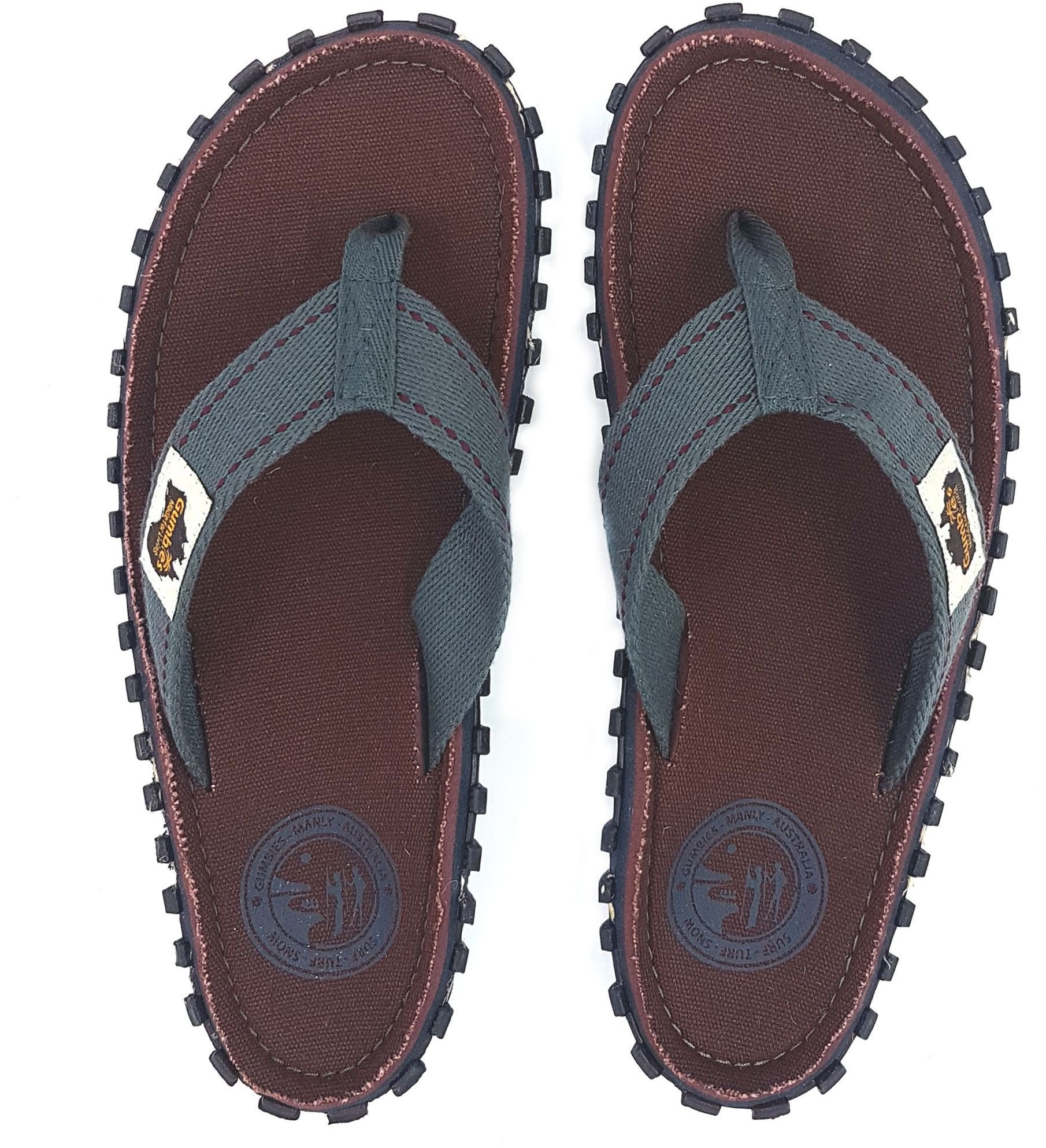 Gumbies  Japonki meskie Gumbies Islander Canvas Flip-Flops Men Manly r. 41 4009300