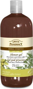 Green Pharmacy Zel pod prysznic maslo shea & zielona kawa 500ml 811251