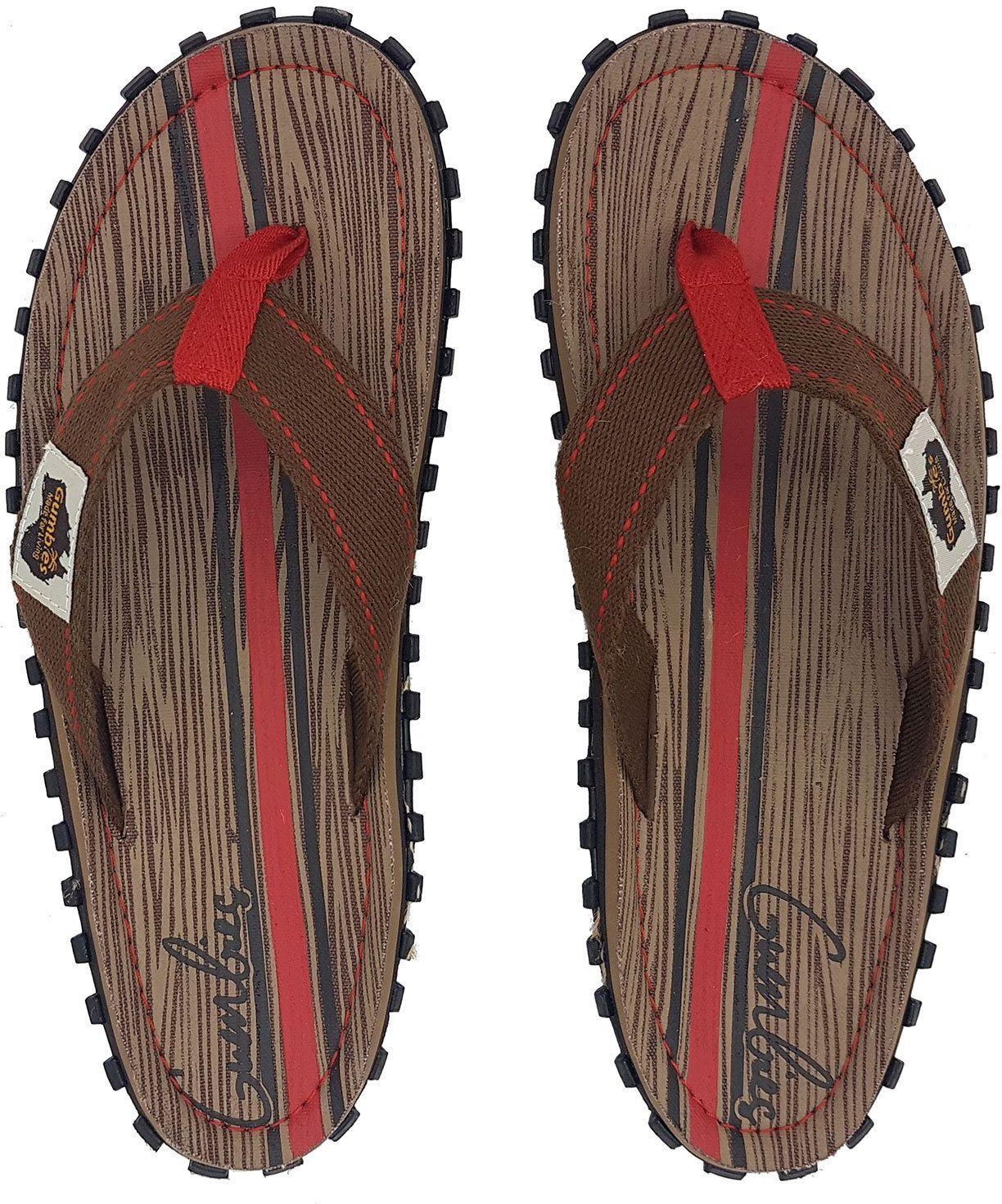 Gumbies  Japonki meskie Gumbies Islander Canvas Flip-Flops Men Woody r. 44 4009315
