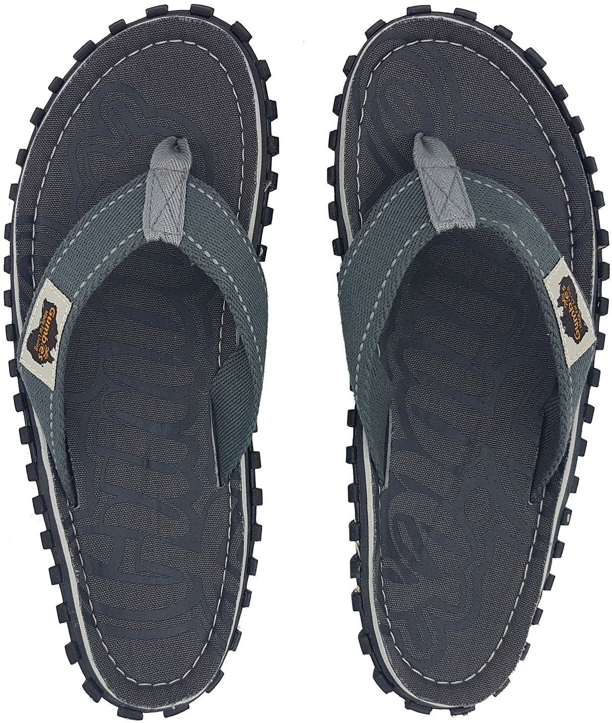Gumbies Japonki meskie Gumbies Islander Canvas Flip-Flops Men Cool Grey r. 45 4009298