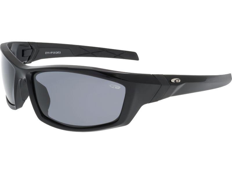 Goggle Okulary przeciwsloneczne czarne (E111-1P) E111-1P