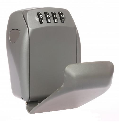 Key Lock Box - zinc alloy body/dual locking levers/4-digits reset combo