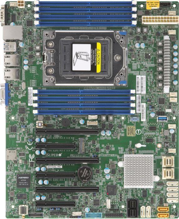 Motherboard Supermicro MBD-H11SSL-I-B (SP3; 8x DDR4 RDIMM; ATX) MBD-H11SSL-I-B