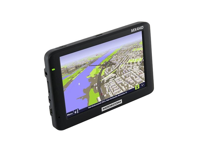 Personal Navigation Device FreeWAY MX4 HD  5'' + AutoMapa Polska Navigācijas iekārta
