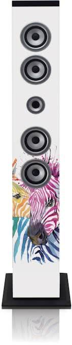 Lenco IBT-6 Zebra mūzikas centrs