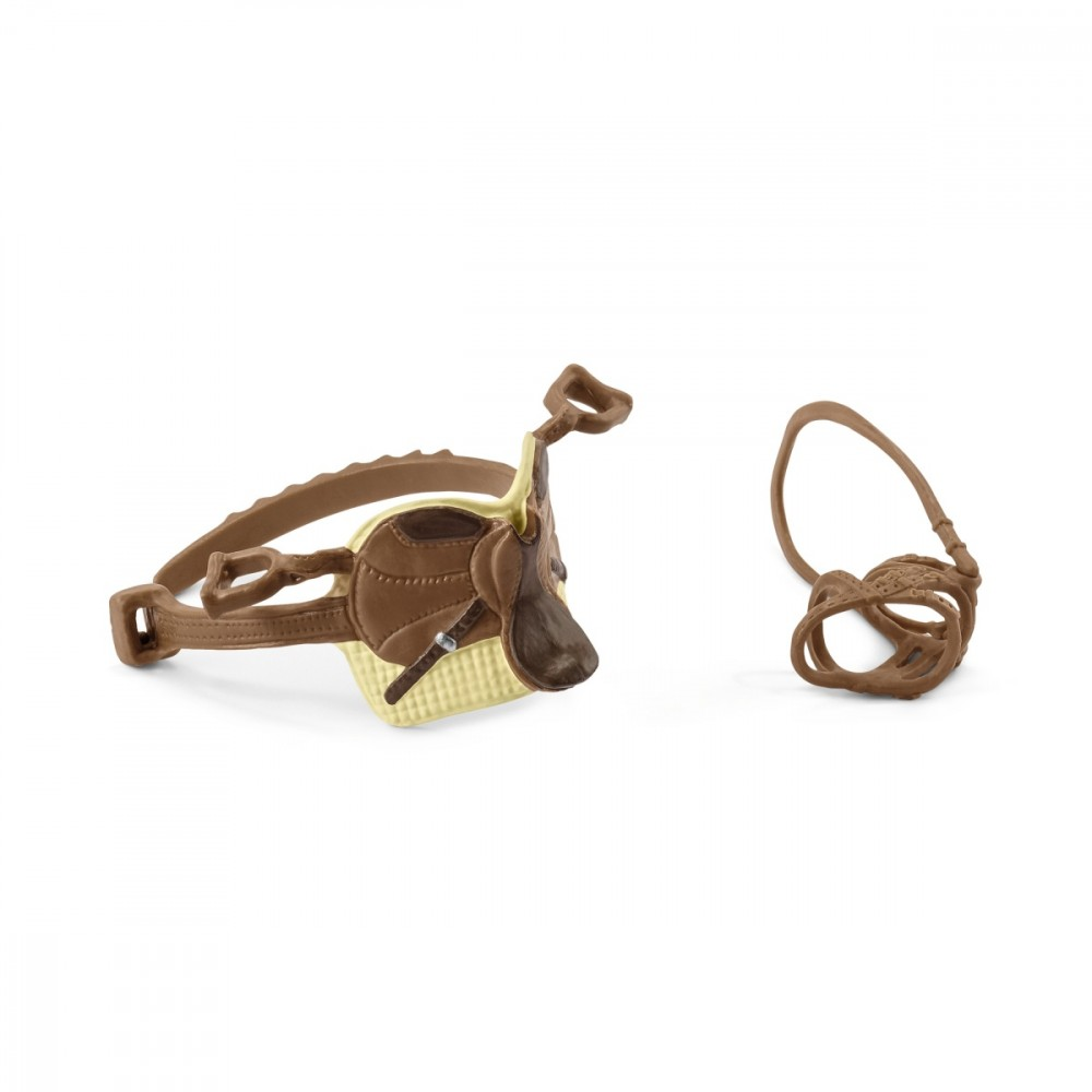 Figures set Horse Club Accessories Sarah & Mystery 42492 bērnu rotaļlieta
