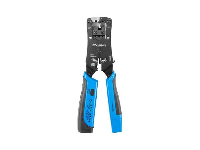 Lanberg Crimping Tool for RJJ11/12/45 + cable tester Darbarīki