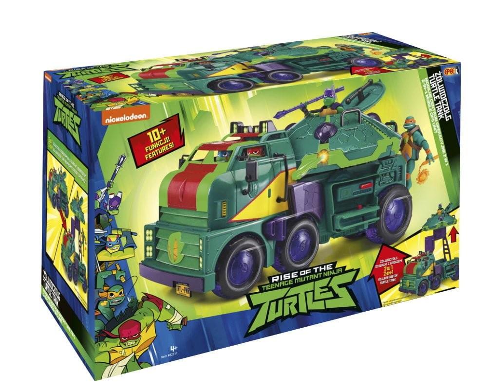 Set Teenage Ninja Mutant Turtles TurtleTank PZN82511 bērnu rotaļlieta