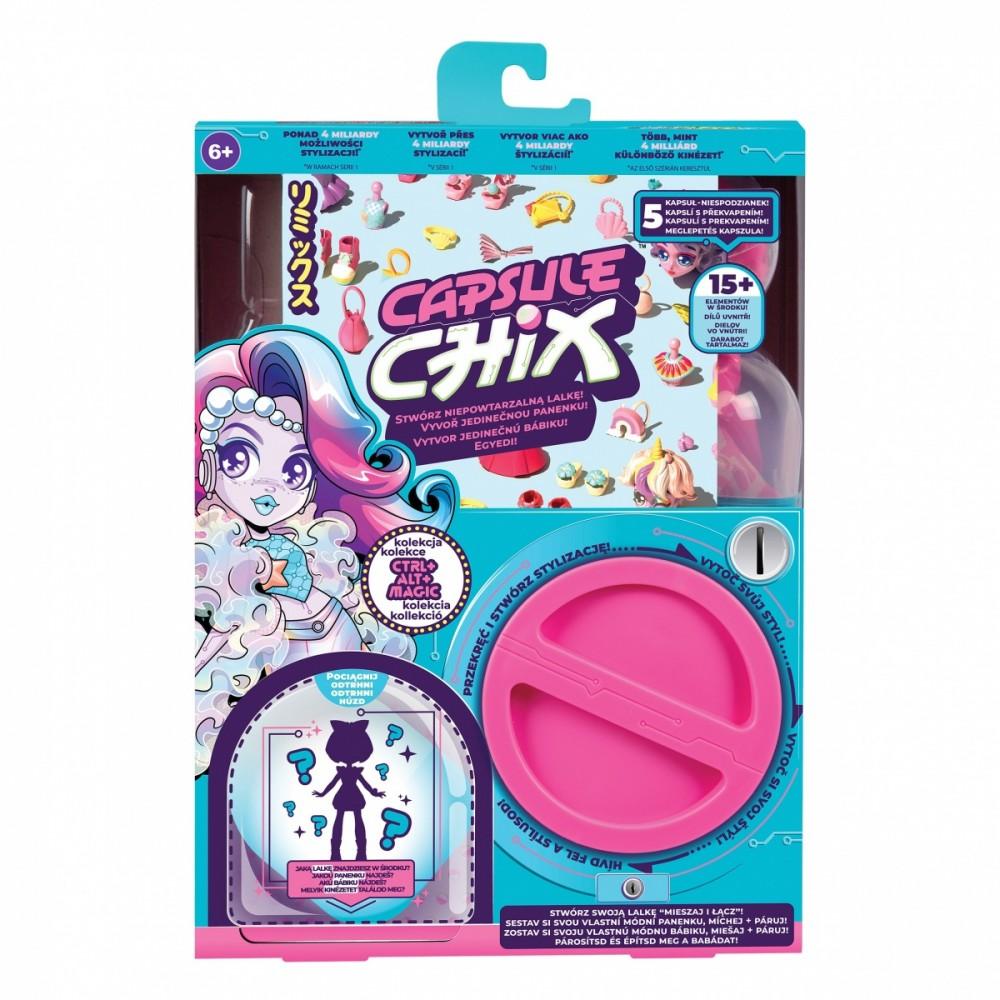 Cobi Capsule Chix 1cs CTRL+ ALT+Magic bērnu rotaļlieta
