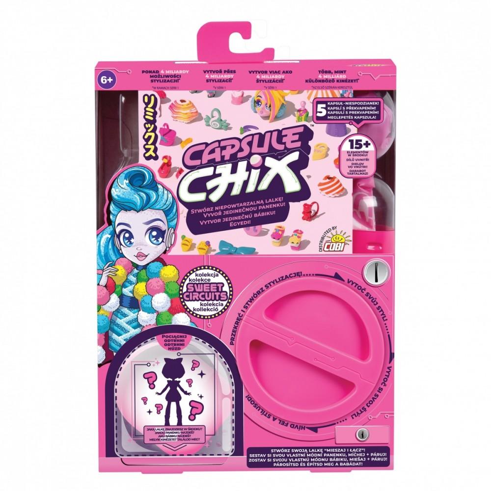 Cobi Capsule Chix 1pcs Sweet Circuits bērnu rotaļlieta
