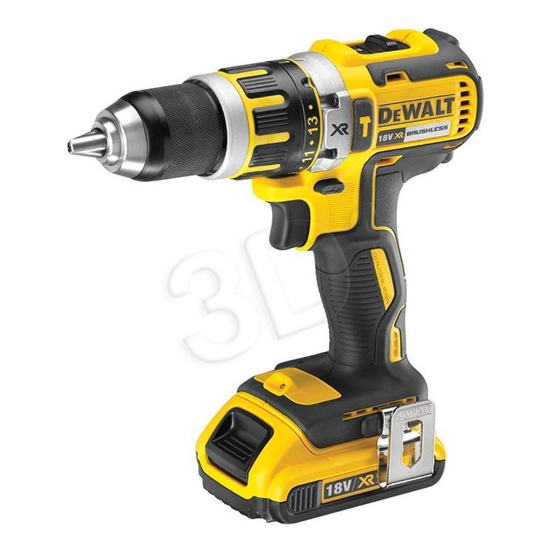 DeWalt DCD795D2-QW 18V 2x 2,0 Ah Compact drill
