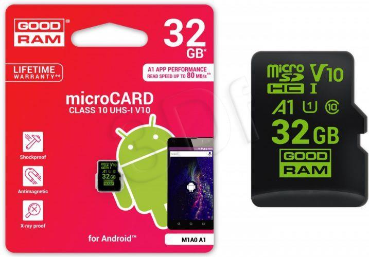 Goodram microSDHC 32GB  CL10 UHS-I Android