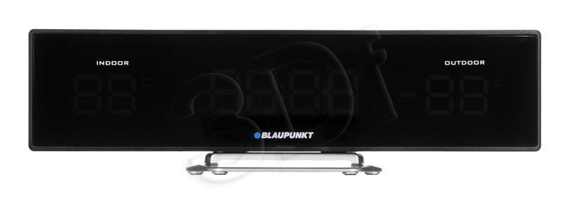 Clock Radio Blaupunkt CR12BK, FM PLL, temperature in/out | black magnetola