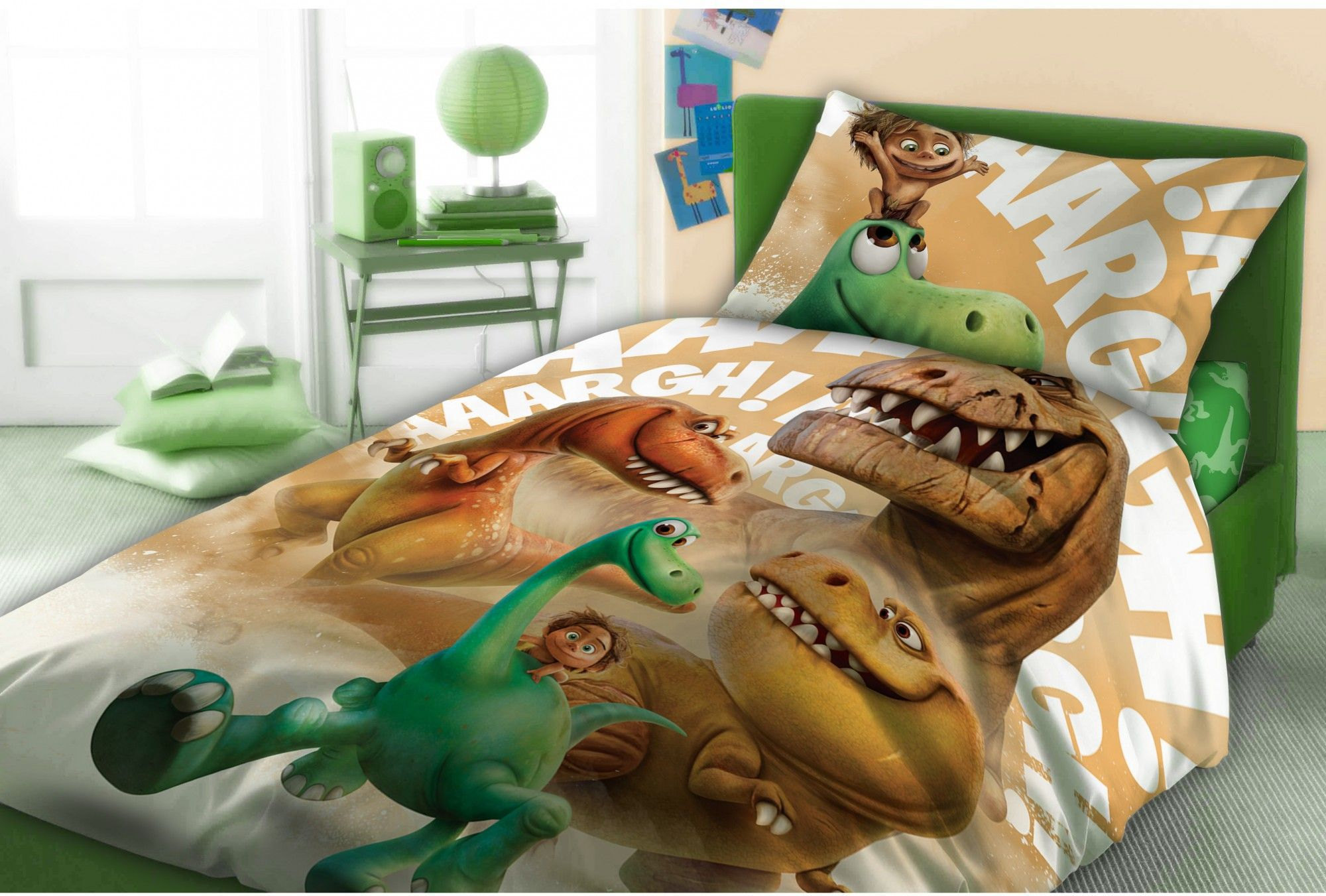 FARO Posciel Dobry Dinozaur +1 Poszewka FAO098 Gultas veļa