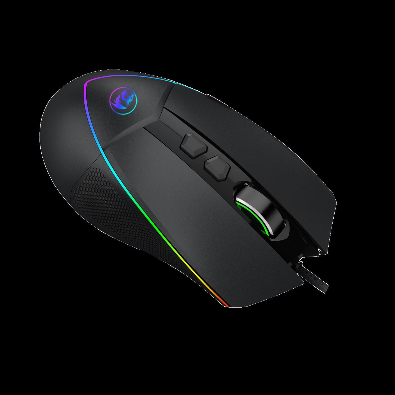 Gaming mouse EMPEROR M909-RGB Datora pele
