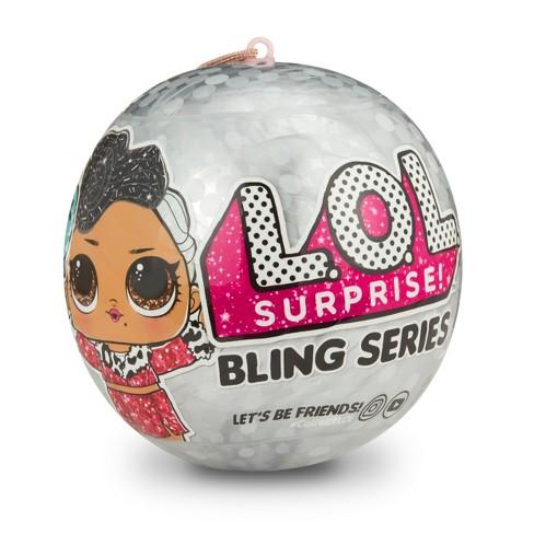 MGA LOL L.O.L.  Surprise Bling Series (ir uz vietas veikalā) bērnu rotaļlieta
