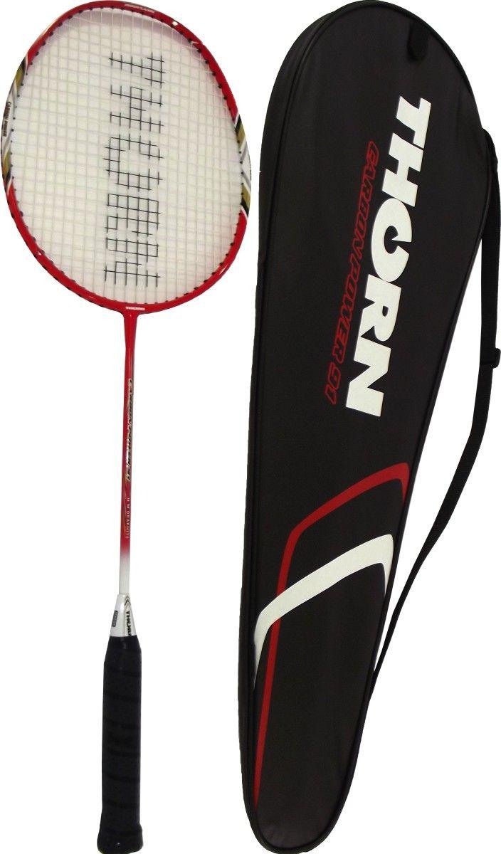 Victoria Sport Rakieta badminton w pokrowcu 91 bialo-czerwona 4722505 badmintona rakete