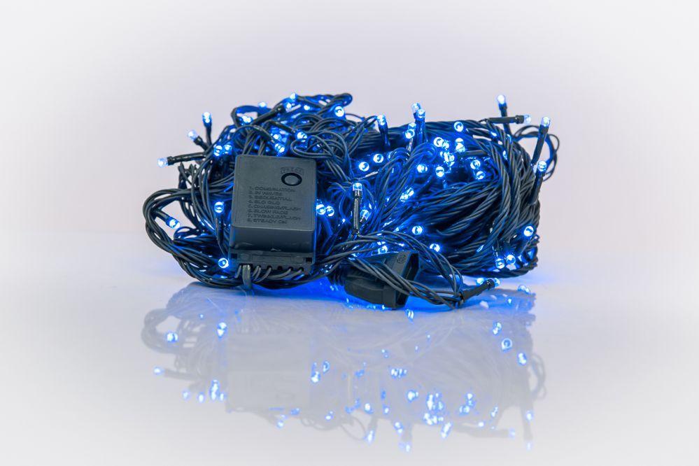N/A Ziemassvētku lampiņu virtene 300LED RS-113 20m.  Blue