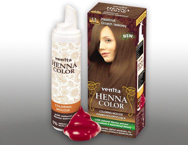 Venita Pianka koloryzujaca Henna Color 013 orzech laskowy 75ml V1222