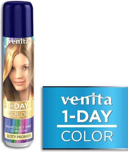 Venita 1-Day color spray 7 zloty promien V301