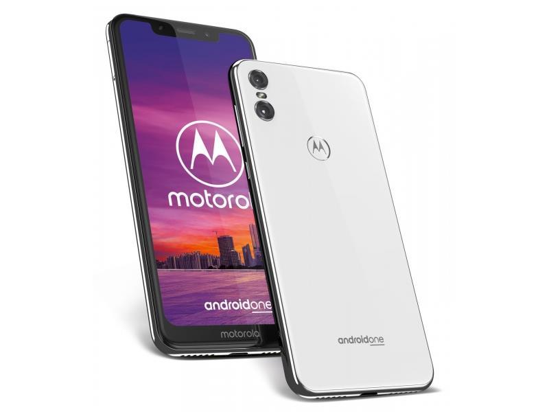 Motorola One Dual SIM 4/64 GB White Mobilais Telefons