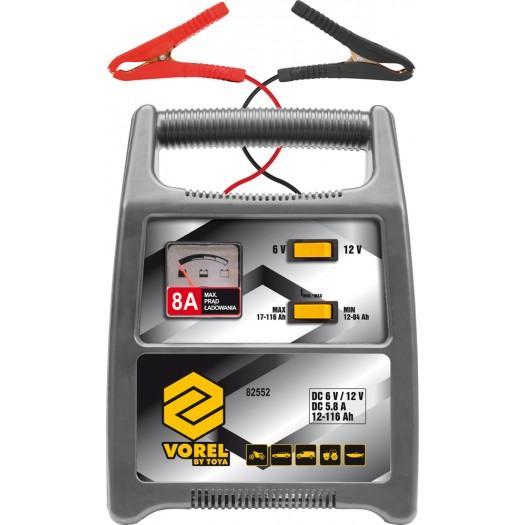 Vorel Prostownik 6/12V 8A 116Ah (82552) 82552 auto akumulatoru lādētājs