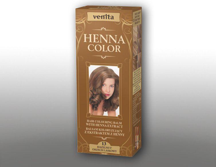 Venita Ziolowe Balsamy Henna Color 13 Orzech laskowy 75ml V1093