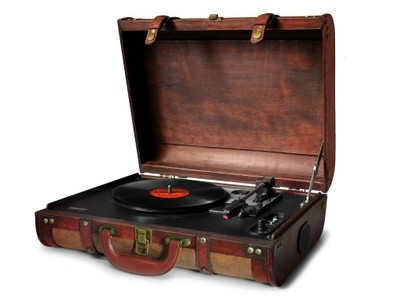 Vinilplašu atskaņotājs-čemod ns Camry CR 1149 mūzikas centrs