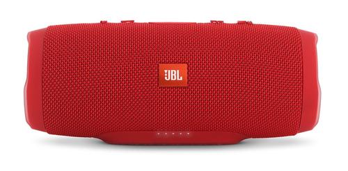 JBL Charge 3 III Bluetooth NFC Red (Remontēts, garantija 3 mēneši) pārnēsājamais skaļrunis