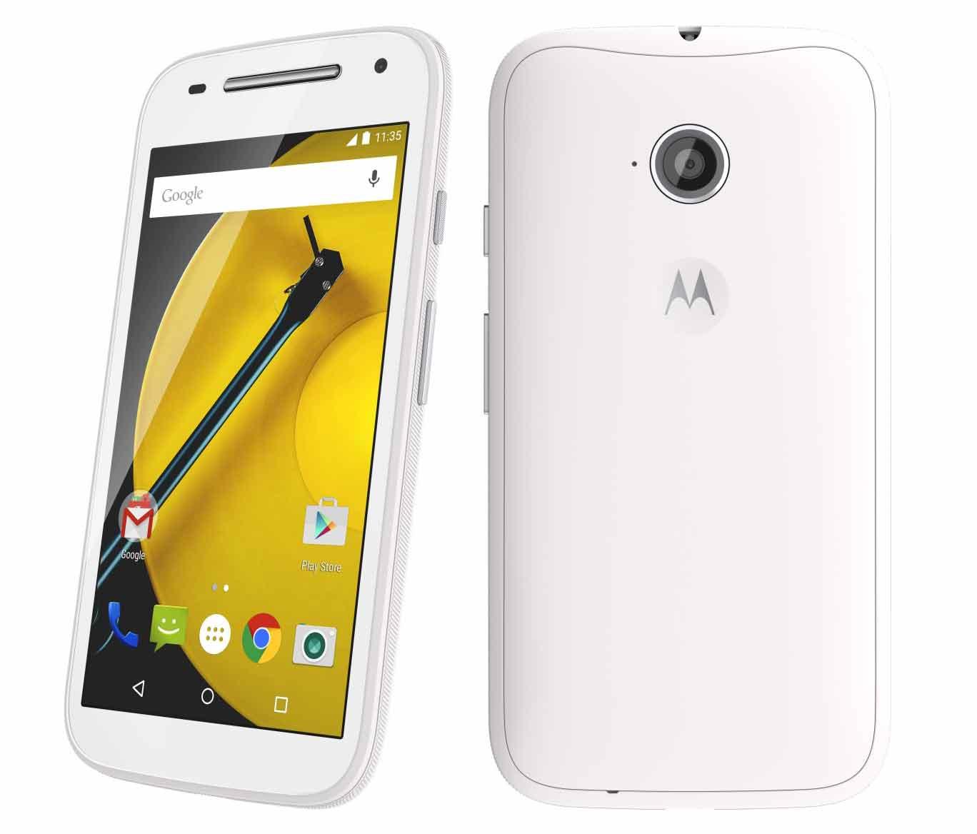 Motorola Moto E XT1524 1GB/8GB WHITE (Ekspozīcijas) Mobilais Telefons