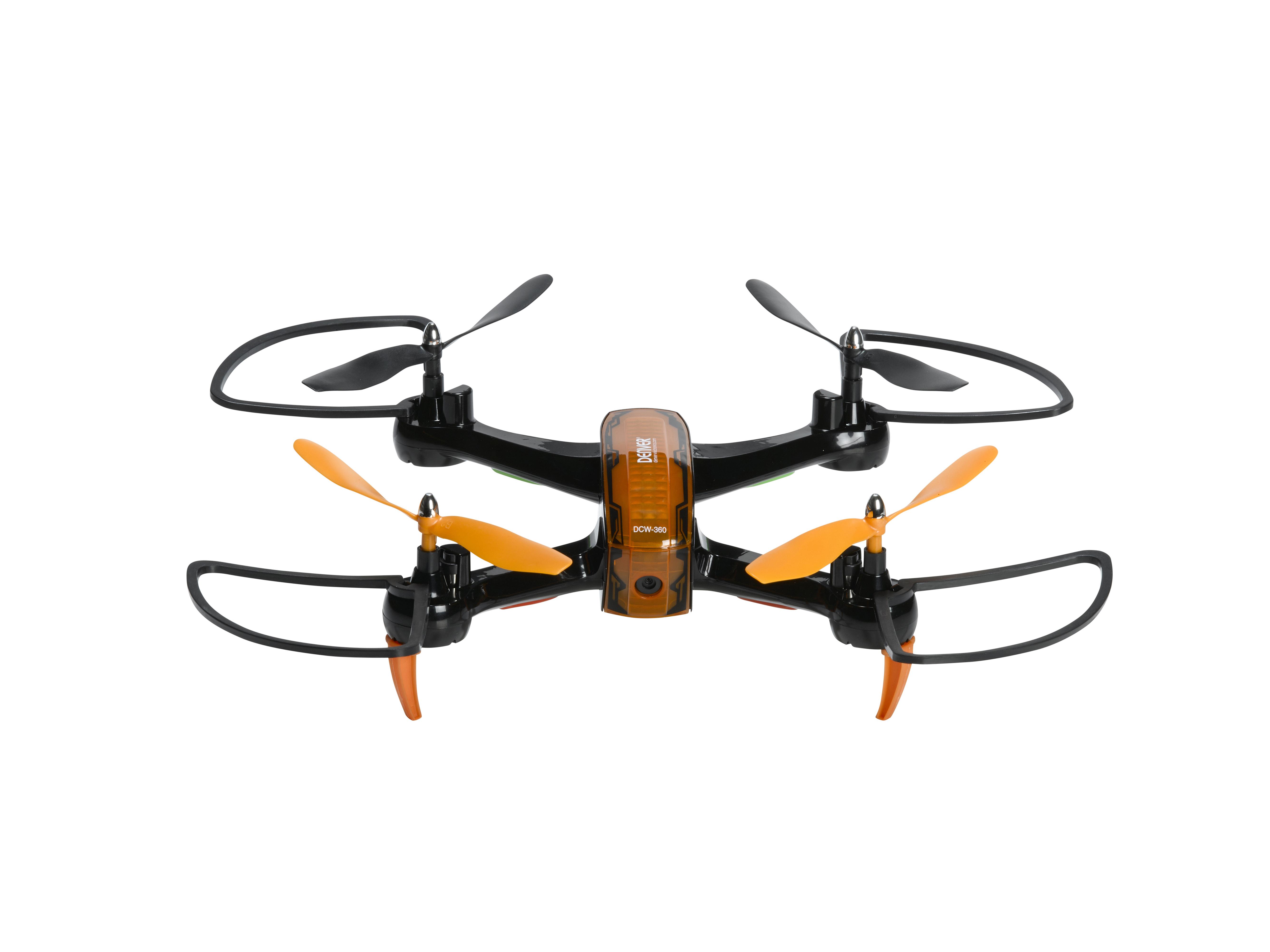 Denver DCW-360 Black/Orange Droni un rezerves daļas