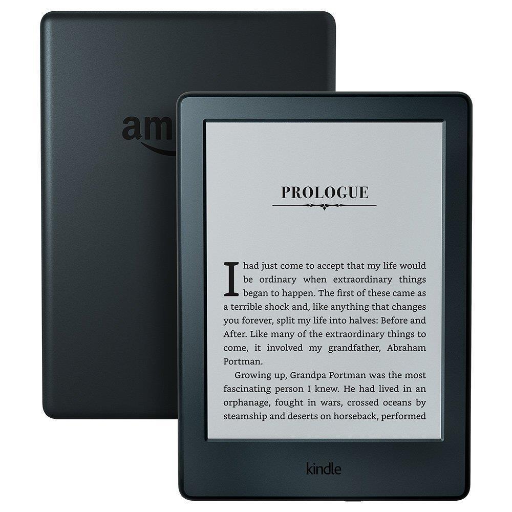 Amazon KINDLE TOUCH 8 WiFi ar reklāmām Model 2016 Elektroniskais grāmatu lasītājs