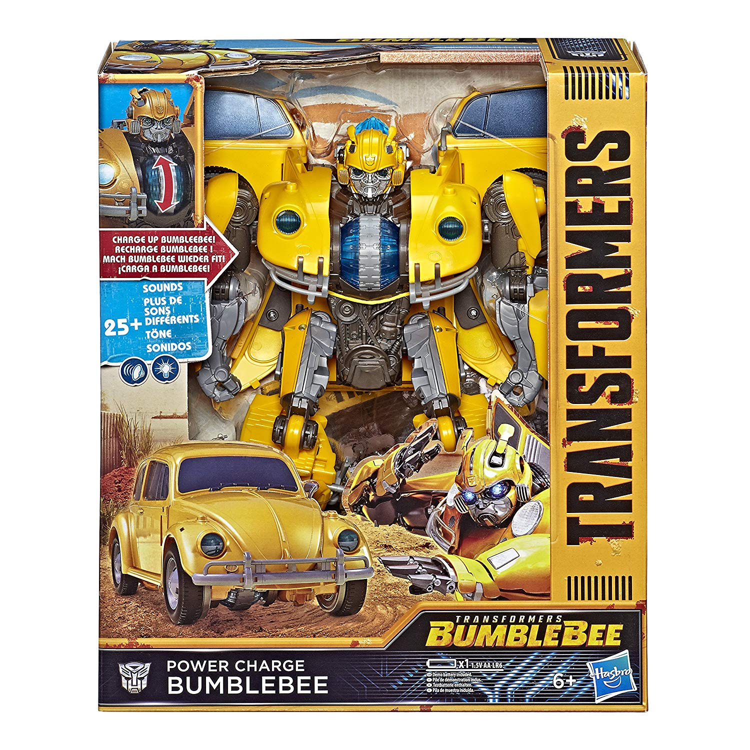 Hasbro MV6 POWER CORE BUMBLEBEE