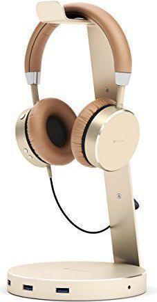 Satechi Stojak na Headset, zloty (ST-AHSHU3G)