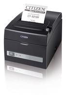 Citizen CT-S310II, USB, Ethernet Black 203dpi, Internal Power Supply uzlīmju printeris