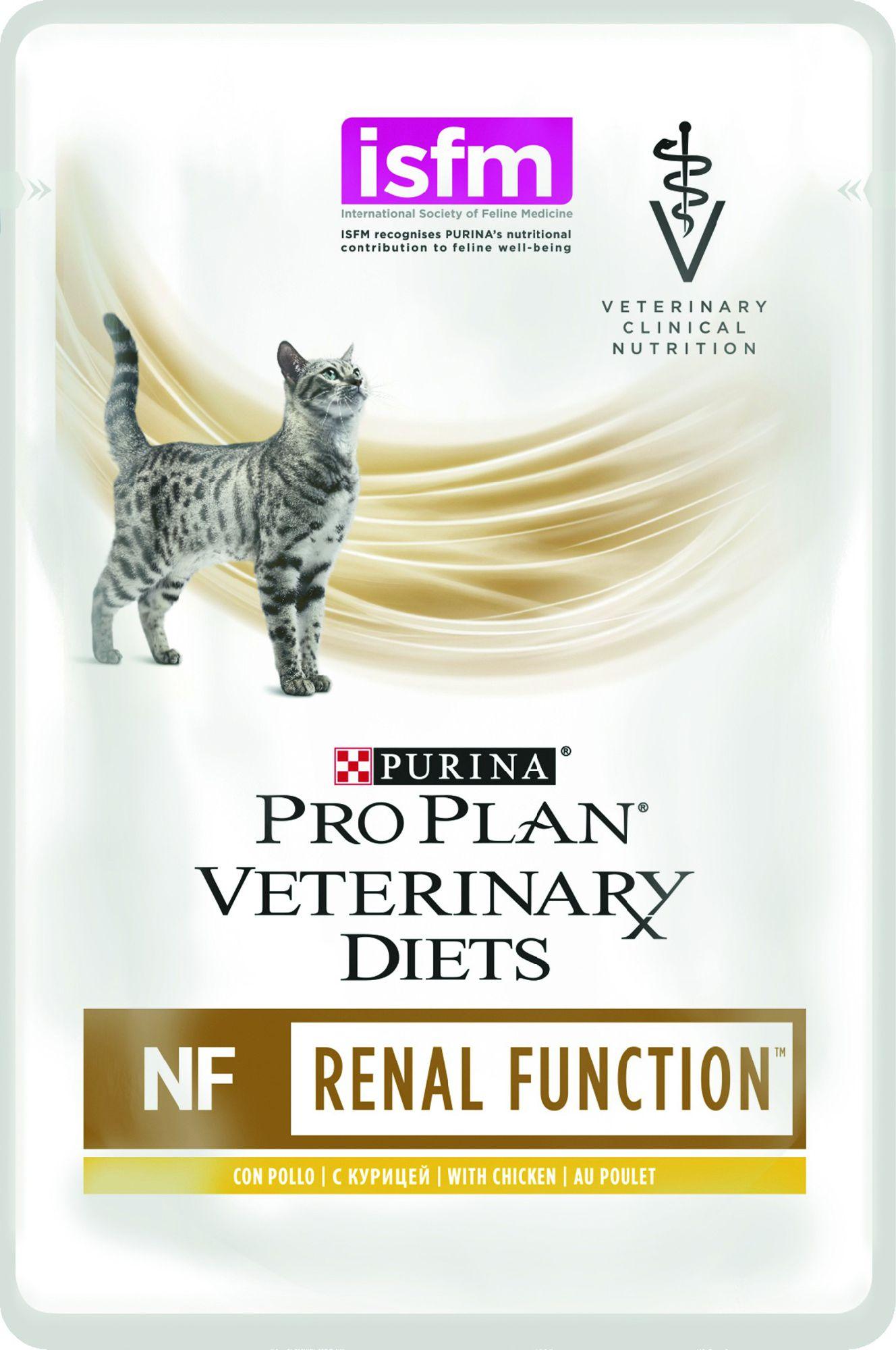 Purina PPVD FELINE NF RENAL KOT KURCZAK 10X85G 75084 kaķu barība