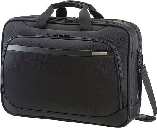 Case SAMSONITE 39V09006 17.3'' VECTURA, computer, tablet, docu, pocket, black portatīvo datoru soma, apvalks
