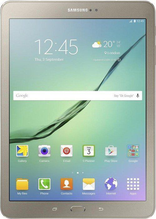 Samsung Galaxy Tab S2 VE 9.7 32GB 4G LTE zloty (T819) Planšetdators